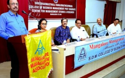 Mangaluru MMA organizes monthly talk at SDM MBA College on soft skills